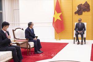 Tổng thống Rwanda muốn thúc đẩy hơn nữa quan hệ hợp tác hữu nghị với Việt Nam
