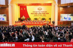Nghị quyết Đại hội đại biểu Đảng bộ tỉnh Thanh Hóa lần thứ XIX, nhiệm kỳ 2020 - 2025