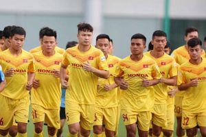 U22 Việt Nam tập trung 33 cầu thủ: Thiếu vắng Đoàn Văn Hậu