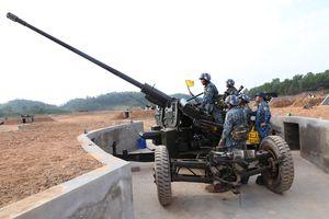 Bế mạc diễn tập chiến thuật phân đội Pháo Phòng không