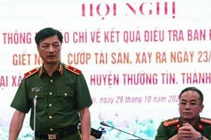 Hà Nội: Khen thưởng cán bộ, chiến sỹ phá án nhanh vụ giết người, cướp tài sản ở Thường Tín