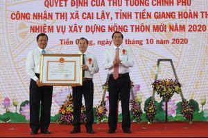 Thị xã Cai Lậy (Tiền Giang) hoàn thành nhiệm vụ xây dựng nông thôn mới