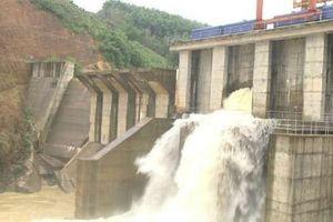 Xả lũ 4 nhà máy thủy điện ở Nghệ An