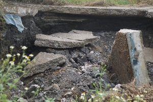 Xuất hiện 'hố tử thần' tại huyện Thủy Nguyên, Hải Phòng