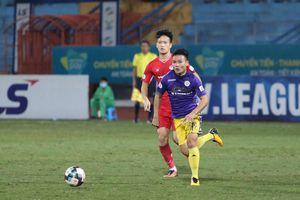 Viettel hòa CLB Hà Nội, cuộc đua vô địch V-League kịch tính tới phút hạ màn