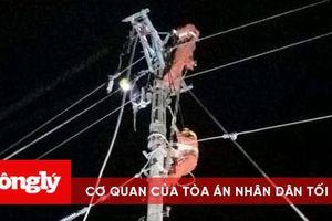 Gia Lai: 'Trắng đêm' khắc phục sự cố lưới điện sau bão