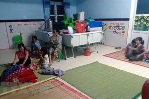 Thừa Thiên-Huế: 14 người bị thương do bão, nhiều nhà bị tốc mái