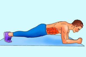10 động tác tập bụng tại nhà để nam giới sở hữu thân hình '6 múi'