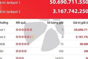 Kết quả xổ số Vietlott 29/10: Giải khủng trị giá hơn 50 tỷ đồng đã 'nổ'