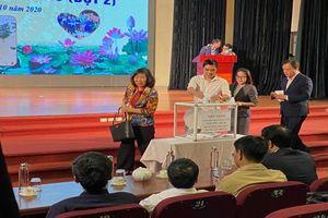 Ngành Giáo dục và Đào tạo quận Bắc Từ Liêm chung tay 'Ủng hộ đồng bào miền Trung'