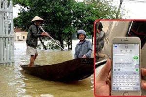 Xúc động dòng tin nhắn bố mẹ nơi quê nhà trấn an con trai đang học ở thành phố sau cơn bão số 9