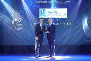 Piaggio Việt Nam dành 2 giải thưởng danh giá trong năm 2020