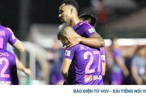 Hạ gục Than Quảng Ninh, Sài Gòn FC vượt mặt Hà Nội FC chiếm ngôi nhì bảng