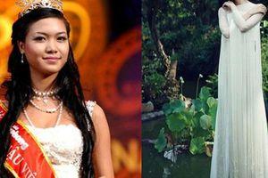 Cuộc 'tàng hình' giữa showbiz Việt của Hoa hậu Thùy Dung sau 12 năm đăng quang