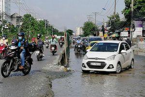 Ngán ngẩm các dự án giao thông thi công chậm