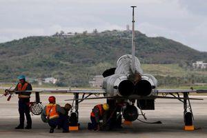 Đài Loan 'trùm mền' chiến đấu cơ F-5E sau tai nạn chết người