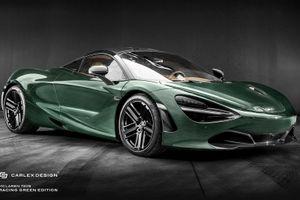 McLaren 720S sang trọng hơn với gói độ của Carlex Design