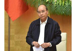 Thủ tướng Nguyễn Xuân Phúc chủ trì phiên họp Chính phủ thường kỳ tháng 10