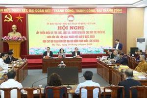 Tâm huyết góp ý vào dự thảo các văn kiện trình Đại hội Đảng toàn quốc lần thứ XIII