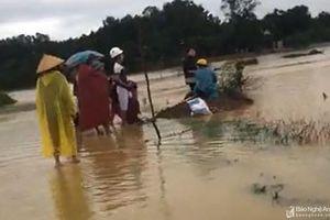3 người dân ở Anh Sơn chết và mất tích do mưa lũ