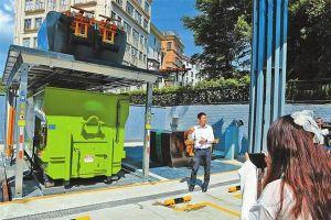 Thành phố Thâm Quyến sử dụng robot trong quá trình xử lý rác