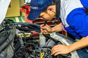Suzuki tăng dự trữ phụ tùng, giảm chi phí bảo dưỡng