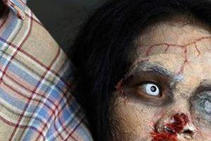 Cô gái Thái Lan livestream để bán quần áo của người chết