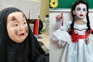 Chết cười với những màn hóa trang Halloween 'bá đạo'