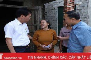 Hiệp hội Doanh nghiệp Hà Tĩnh hỗ trợ bà con vùng lũ hơn 1,8 tỷ đồng