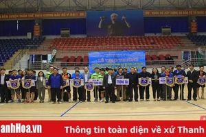 280 VĐV tham dự Giải bóng bàn TP Thanh Hóa mở rộng lần thứ XVI