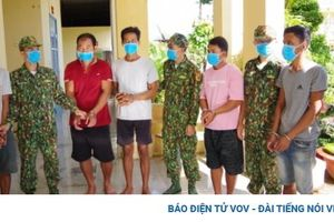 Vây bắt nhóm vận chuyển hàng lậu từ Campuchia vào Việt Nam