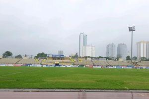 Thành phố Vinh bị ngập vẫn đảm bảo điều kiện tổ chức trận 'sinh tử' của Nam Định