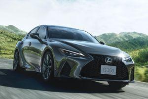 Lexus IS 2021 được ra mắt tại Nhật Bản