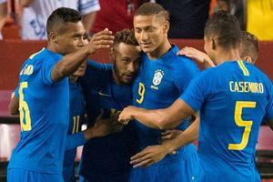 Neymar ghi bàn sớm ngày Brazil hủy diệt El Salvador