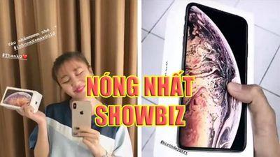 Nóng nhất showbiz: Lộ diện sao Việt đầu tiên sở hữu iPhone XS, Nhà thiết kế tố hoa hậu mặc đồ không xin phép