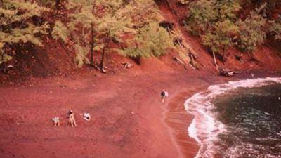 Giải bí ẩn top bãi biển màu sắc kỳ quặc như cầu vồng