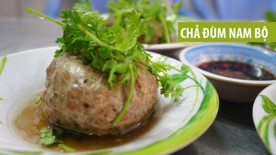Chả đùm món ăn hấp dẫn không thể bỏ qua trong danh sách ẩm thực Nam Bộ