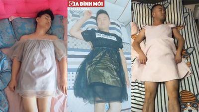 Clip hài hước: Đừng ngủ khi vợ bạn còn thức