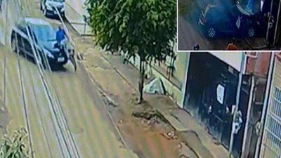 Brazil: Bị ô tô đâm, húc một đoạn dài, lát sau chui từ gầm ra