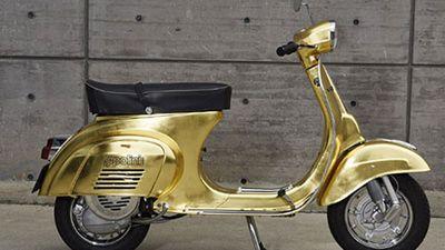 Xe ga Vespa Polini dát vàng giá lên đến 1,1 tỷ đồng