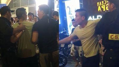 Chiến sĩ cảnh sát cơ động trấn áp kẻ hung hăng từng là lính đặc nhiệm