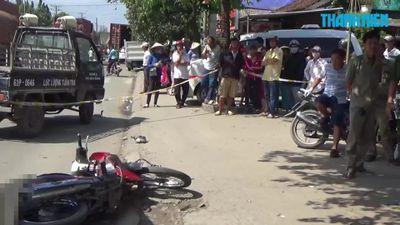 Bình Dương: Người đàn ông bị xe container chạy cùng chiều cán chết