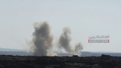 Quân đội Syria đánh bật IS, giải phóng trên 1km lãnh thổ đồi núi ở Al-Safa