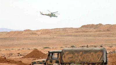 Nga càn quét yểm trợ quân đội Syria tấn công lên cao điểm cuối cùng ở Al-Safa