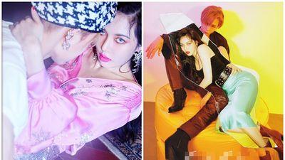 Tung serie clip đang vui vẻ cùng E'Dawn, HyunA đang muốn tuyên bố rằng chỉ cần người yêu là đủ