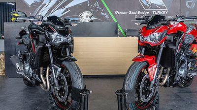 Xe môtô Kawasaki Z900 ABS có thể cháy, nổ tại Việt Nam