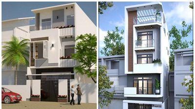 10 mẫu nhà phố 3 tầng trên 1 tỷ được ưa chuộng 2019
