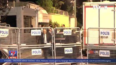 Thổ Nhĩ Kỳ tìm thấy bằng chứng trong Lãnh sự quán Saudi Arabia