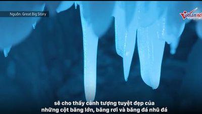 Chiêm ngưỡng mê cung băng tuyết tựa phim hoạt hình nổi tiếng Frozen tại Trung Quốc