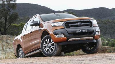 Khó lòng vực dậy doanh số, giá Ford Ranger giảm nhẹ trong tháng 10